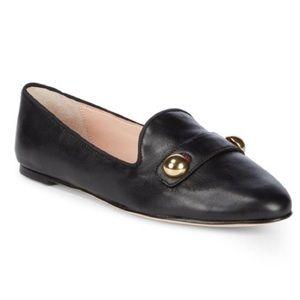 Kate Spade black Sutton loafer
